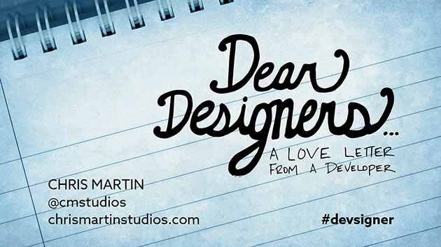 Thumbnail Image for Dear Designers