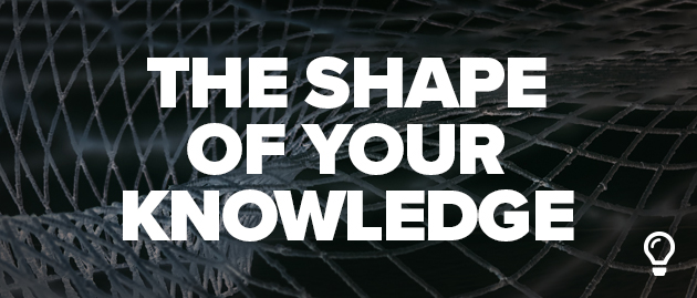 The Shape of Your Knowledge