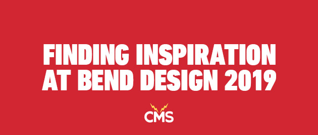 Finding Inspiration at Bend Design 2019