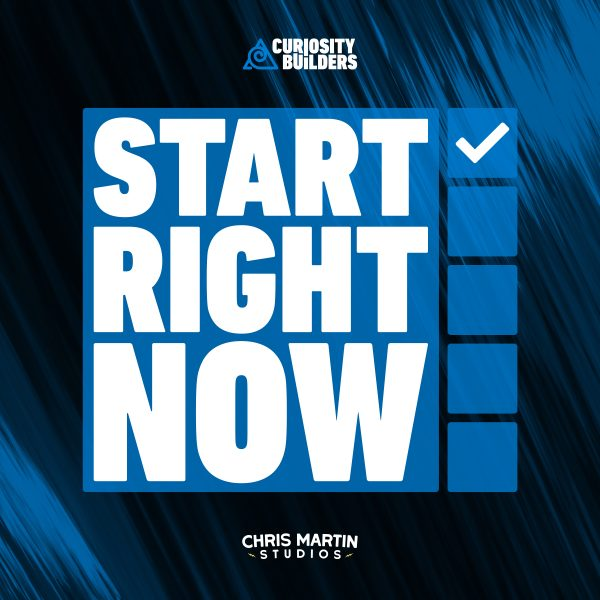 Start Right Now Audio Course Cover